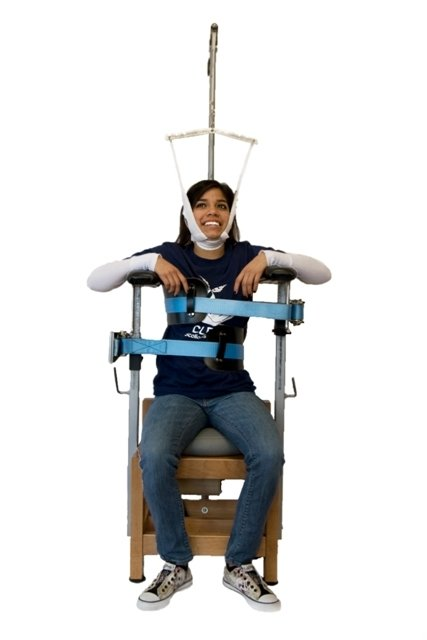 scoliosis traction chair